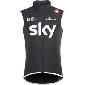 Castelli Team Sky Perfetto Wind/Rain Vest Men black
